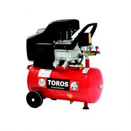 Αεροσυμπιεστής μονομπλόκ λαδιού TM 24/2.5 24LT/2.5HP Toros